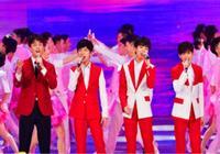 吳磊王俊凱等四人同臺表演,四人年齡相仿,身高是亮點