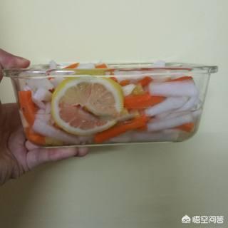 飯店裡的泡椒蘿蔔是怎樣泡製的?
