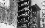 停車位不夠?1930年代,美國人設計了腦洞大開的汽車電梯