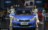 2017中國重慶國際汽車工業展開幕 靚麗模特吸睛