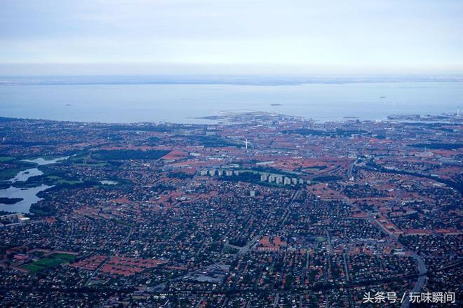 鳥瞰丹麥首部哥本哈根
