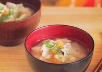 美食做法——味噌湯
