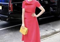 37歲安妮·海瑟薇穿西裝都美成真人芭比,精緻又高貴,堪稱教科書