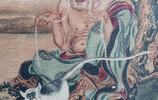 唐 吳道子 十八羅漢圖之長眉羅漢