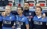 足球——友誼賽:意大利勝烏拉圭