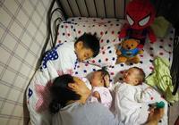 楊威雙胞胎女兒曝光,長相酷像楊威