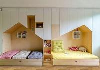 家有二胎,兒童房別亂裝,這7套設計聰明極了,收藏備用準沒錯!