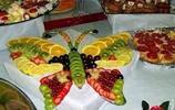 直擊水果雕與水果拼