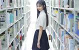 校園風:小清新學生時代小師妹,清純美女