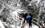 陝西有個國家4A景區雪景迷人,不要門票安全自負!