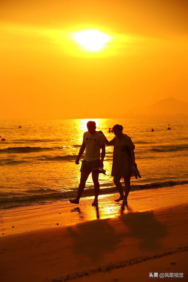 立夏時節,海南三亞這個地方的夕陽美景如畫,你去看了嗎
