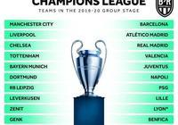 歐冠32強已定20席:5大聯賽16豪門領銜!阿賈克斯波爾圖踢資格賽