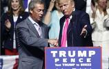 """特朗普會見英國脫歐派法拉奇 關切脫歐問題贊其為""""聰明人"""""""