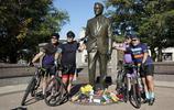 美國各地民眾自發紀念前總統老布什