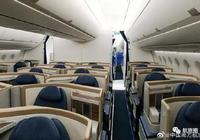 夜話丨南航公佈首架A350內飾      