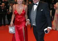 25歲女星戛納紅毯被富豪男友求婚,倆人相差竟然40歲!