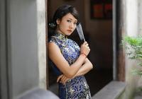 景泰福花旗袍
