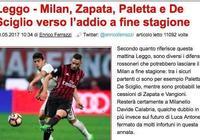 德西利奧、帕萊塔將在賽季末告別米蘭