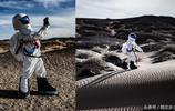 85後小夥網上花3000元買太空服,在荒蕪人際戈壁灘模擬登月成網紅