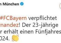 官方:拜仁簽下盧卡斯-埃爾南德斯,今夏加盟