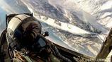 戰鬥機飛行員在空中看出的風景