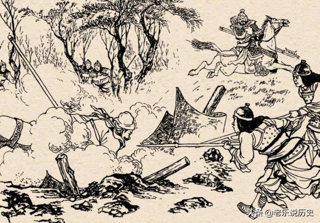 曹操徵汝南:曹洪李典斬將擒敵,典韋不甘落後,結果遇上一生勁敵