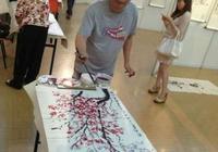 香港著名書畫藝術家韓丹鬆作品欣賞
