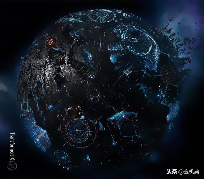 變形金剛:汽車人與霸天虎戰火中消耗殆盡的家園-塞伯坦星球