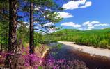 美麗的大興安嶺,風景優美,如詩如畫