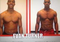 變化明顯!埃文-特納回顧自己大學時期的身材變化