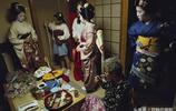 實拍,日本藝妓的臺前幕後 每一張臉都是藝術品