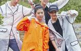 張子楓最新一期《嚮往的生活》造型,簡單幹淨,乖巧可人鄰家女孩