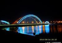 赤峰攝影二十二:赤峰彩虹橋夜景