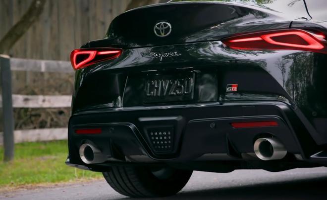 19款歐版豐田GR SUPRA 到店實拍,顏值不輸寶馬Z4!