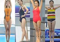 女星跳水,沒有濃妝,沒有修圖,讓跳水運動美出新高度