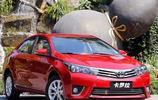 經濟型轎車市場的熱門車型——豐田卡羅拉