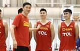 中國男籃藍隊在北京體育大學國家訓練基地舉行公開訓練課