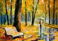 一場秋雨一場寒,滴滴淋漓在心頭,古詩詞裡唯美秋雨