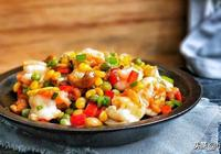 五彩繽紛鮮蝦仁,營養豐富,美味下飯,葷素都有的家常蝦仁做法