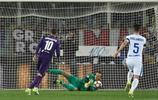 足球——意甲聯賽:佛羅倫薩勝國際米蘭