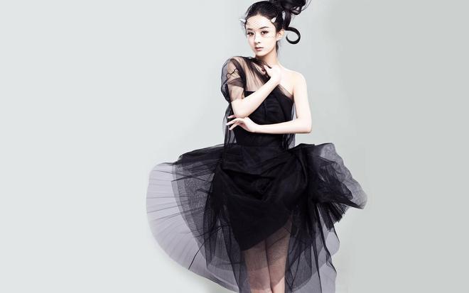 趙麗穎:一笑傾城  氣質女神