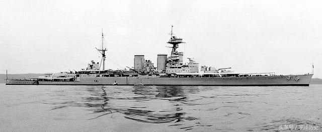 英國皇家海軍的驕傲——胡德號
