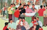 出版1967年的老年畫畫面精美,現在的畫家沒有幾個能畫出這個水平