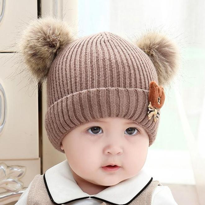 九成媽媽不會打扮自己寶寶,瞧下圖,呆萌又保暖,出門人見人愛