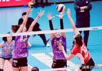 中國女排超級聯賽廣東恆大對戰天津女排,天津女排更加細膩