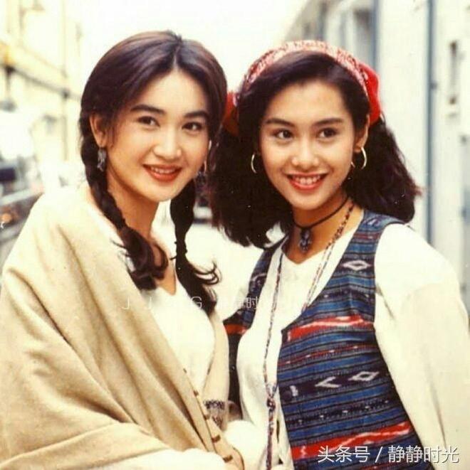 老照片,90年代那些風華正茂的港臺明星,你還認識哪些