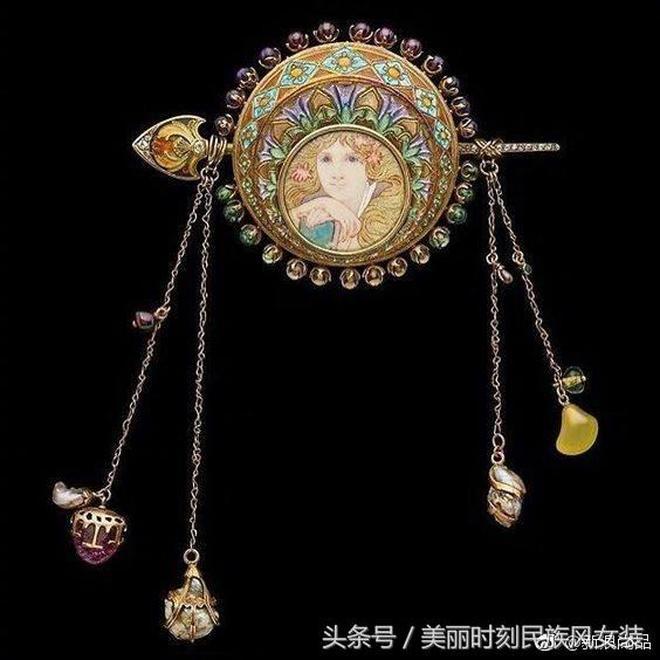 奢華的珠寶
