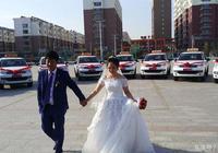 美!駕校教練皮卡車迎娶學員新娘