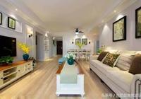 129平簡美風新家,硬裝簡約大氣,軟裝色彩活波,年輕人的最愛