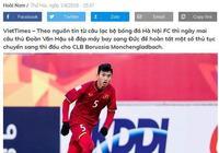 越南足球五大聯賽第一人即將出爐!曝19歲新星與德甲隊簽約3年